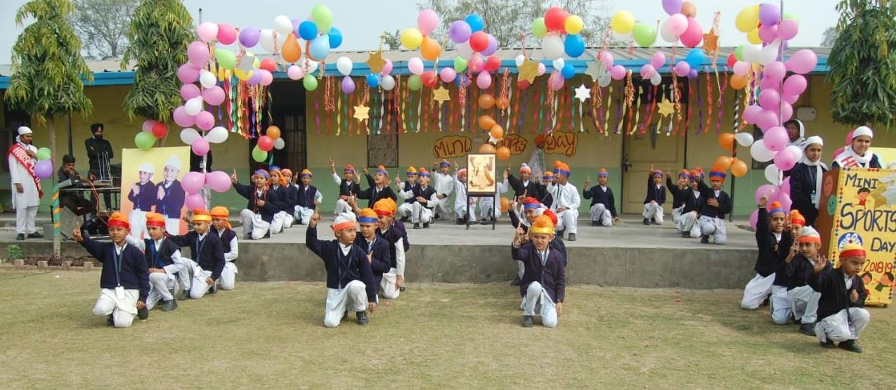 Gurupurab Celebration Cum Mini Sports Day In Akal Academy